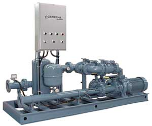 cooling systems, pump stations